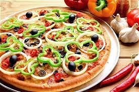 Foto Pizza Vegetarian